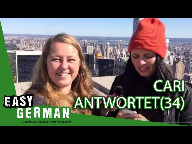 Cari antwortet (34) - USA tour start   Hate comments   Brexit   West East Germany