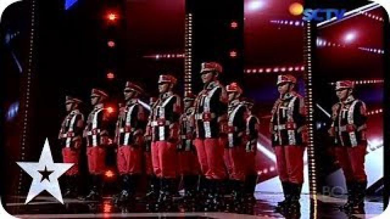 Cool Comando Dance by Azura Sakti - AUDITION 6 - Indonesia's Got Talent