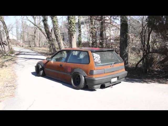 RUSTED, Slammed , and Cambered EF Hatch