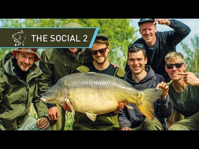 CARP FISHING 🐟 CATCHING GIANT CARP at THE SOCIAL 2 FULL MOVIE