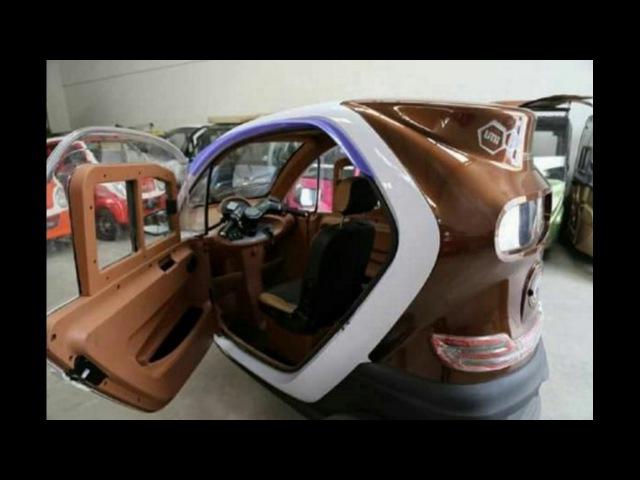 Kereeeeennnn, Motor Roda Tiga Rasa Mobil dari Kediri, Ini dia spesifikasi dan harganya