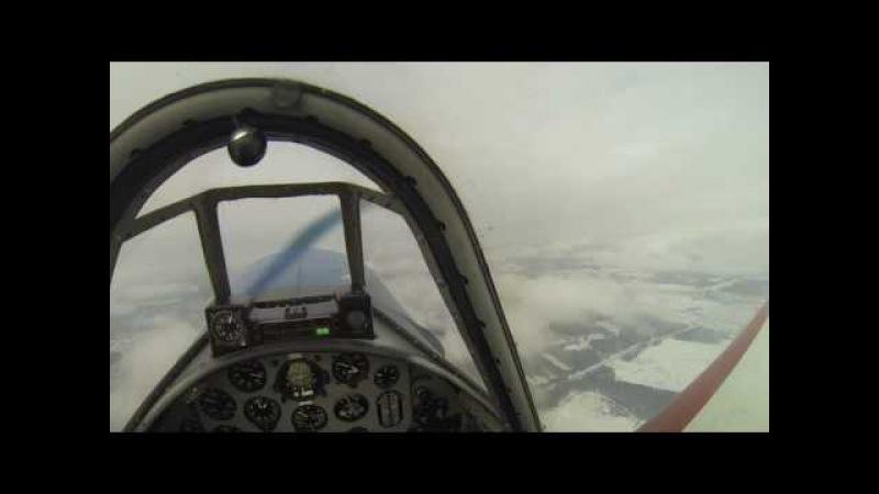 05.02.2017 Yak-52 Spin and Flick/ Як-52 Штопора и штопорные бочки