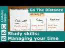 Study Skills Managing your time