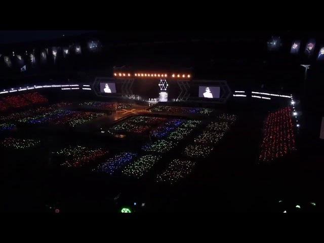 EXO's Exo'rdium Dot in Seoul Day 2 Sehun and Baekhyun Superpower