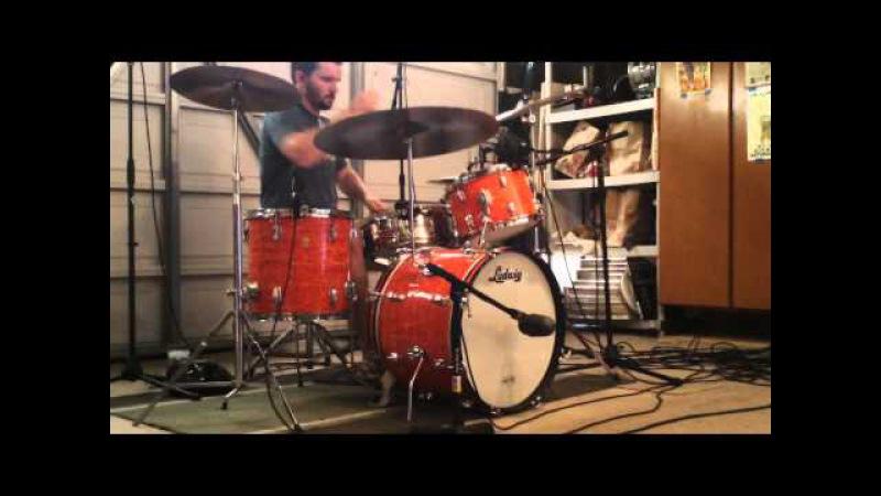 The Doors - Break On Through (Drum Cover) w/ Music - Ludwig Mod Orange Downbeat