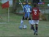 Belo Chapeuzinho de Pessalli no Jogo Grêmio 1 x 4 Atlético-PR Sub-20