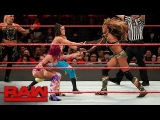 Eight-Woman Tag Team Match Raw, May 1, 2017