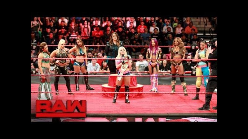 Alexa Bliss' Raw Women's Championship Coronation: Raw, May 1, 2017