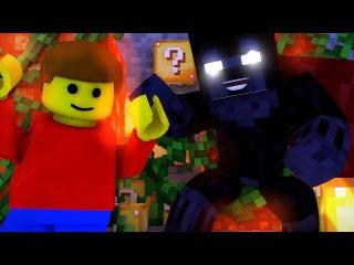 Minecraft ЛАКИ БЛОКИ БОЛИ Lucky Block : БЕГА [ ЗАЧЕМ ДРАКОНАМ ДЕВСТВЕННИЦЫ?! ]