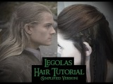 Legolas Hair Tutorial [Simple Version]