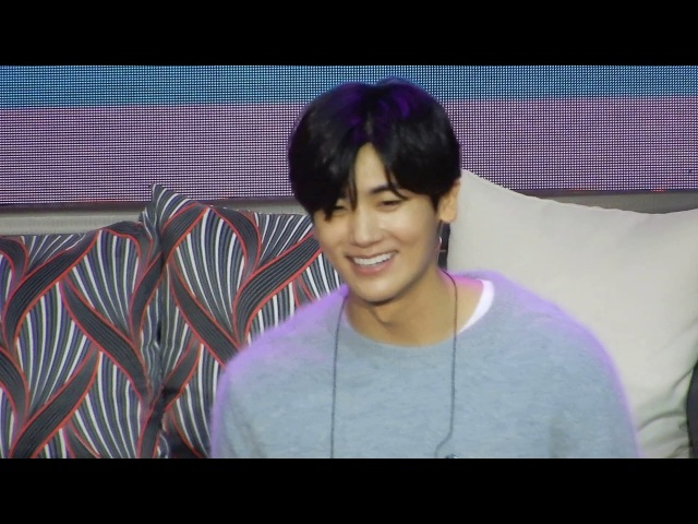 [11.11.2017] Park Hyung Sik 박형식 Fanmeet in Manila - 박형식 Letter for Manila Fans