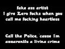 Zero Fucks (Remix) by Dee Y feat Raslaves
