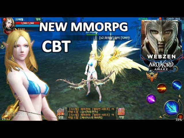 Waw SEXY..!! ARCHLORD AWAKE CBT Gameplay (KR) Mobile MMORPG Game