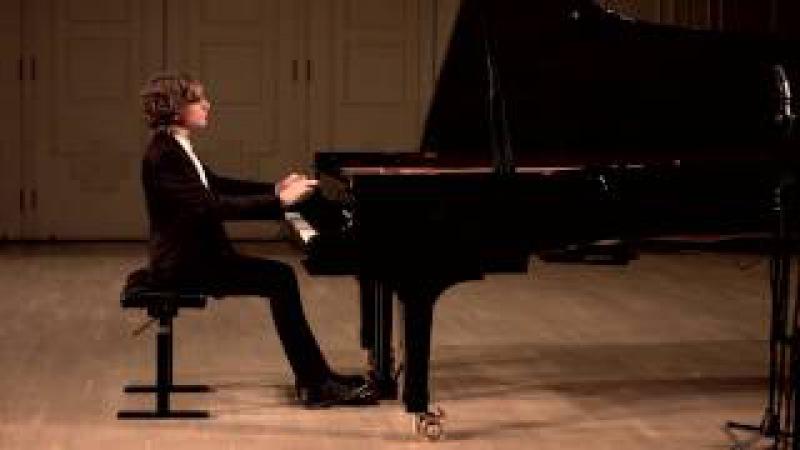 Даниил Немов. И.С. Бах - Прелюдия и фуга №13 Fis-dur BWV 858, ХТК том 1