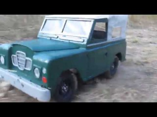 RC adventures № 1-RC 110, land Rover defender