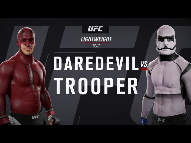 Сорвиголова и Штурмовик (EA Sports UFC 2)
