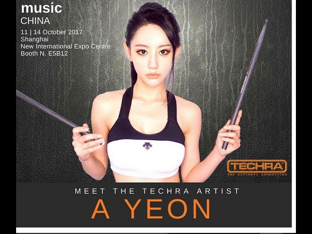 Todays Featured Artist A- Yeon a Beautiful Very Talented South Korean Drummer!