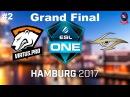 VP vs Secret RU Grand Final #2 (bo3) ESL One Hamburg 2017 Major 29.10.2017