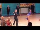 Nikita Kuzin - Ekaterina Kuleshova , Cha-Cha 1/ 4 WDSF Internetional Open Latin Moskvich 2017