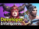 ♥ Blizzcon 2017 Developer Interview w/ The Alexstrasza Hanzo Designers - Heroes of the Storm HotS