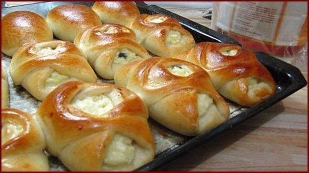 Пирожки из постного дрожжевого теста Пирожки получаются