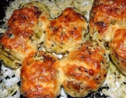 Картофель с сыром в мультиварке Ингредиенты Картофель — 10