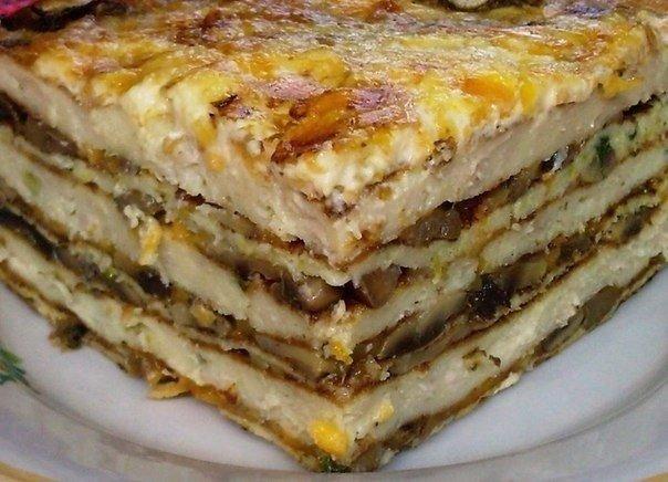 Мясной торт Ингредиенты: 1 килограмм куриного фарша (лучше, если