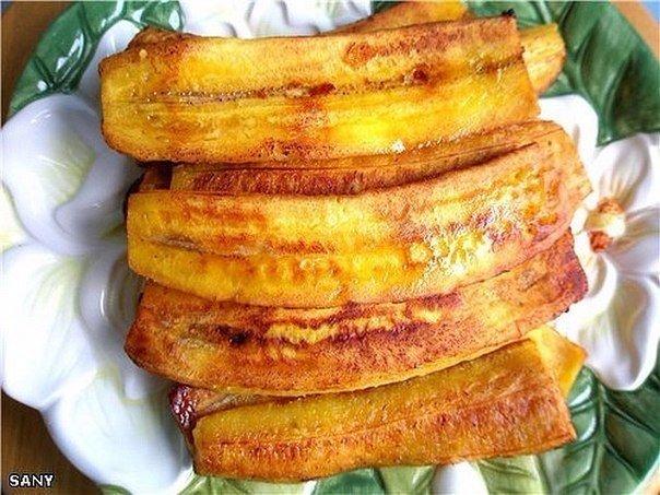 Жареные бананы Состав: -6 столовых ложек муки -2 столовые ложки