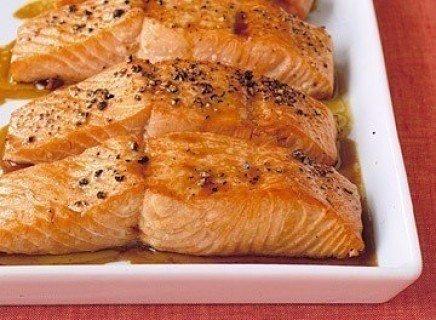Cемга в соево-медовом соусе Ингредиенты на 1-2 порции