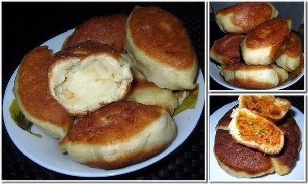 Пирожки на кефире без яиц Хочу предложить вашему