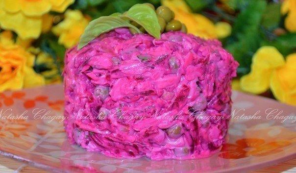 Свекольный салат с сыром и яйцом Для приготовления