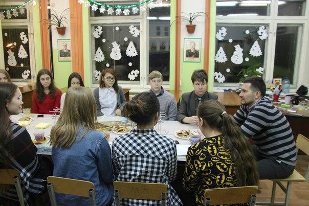 Вчера на базе 20 школы прошла неформальная встреча участников ▶ школы