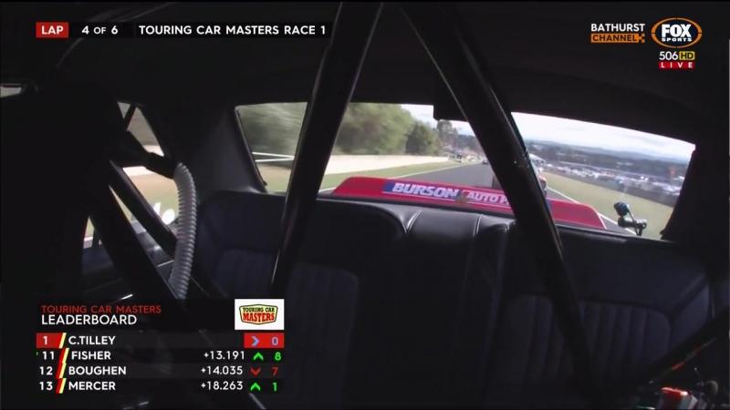 Touring Car Masters 2017. Round 6. Bathurst. Race1