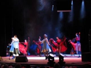 Выступление Шарман Балаган и шоу Балет Валери на праздничном концерте ко Дню защитников Отечества 23.02.17