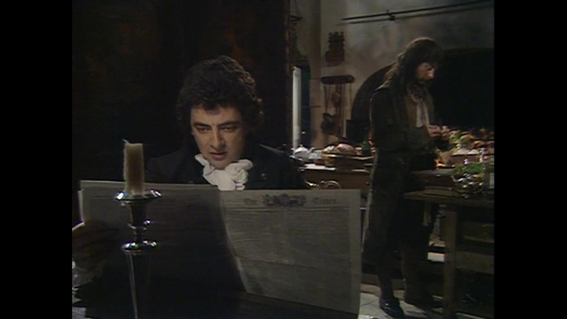 Black Adder the Third - Sense and senility