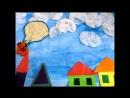 Мультфильм по стихотворению Кристины Стрельниковой Летела собака