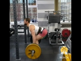 Второй подход 110 кг. на 12 повторов