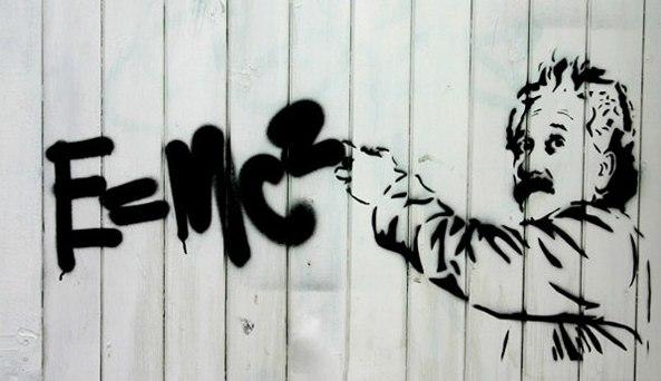 наука ученый физика формулы граффити умное институт университет знания иллюстрация стрит-арт