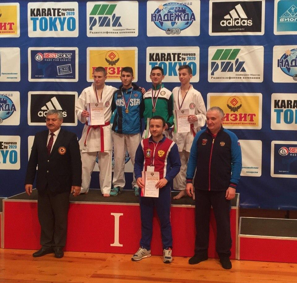 Мамедов стал четырехкратным победителем Первенства России