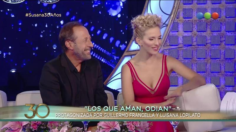 Guillermo Francella, Luisana Lopilato - Susana Giménez 2017