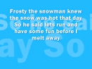 Frosty The Snowman - Lyrics