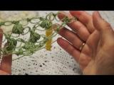 Шаль соломоновы петли , бактус крючком. (Шаль #31)