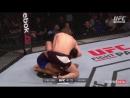 UFC Fight Night - 107 хайлайт NELSON vs JOUBAN второй раунд