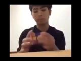 Как я собираю кубик Рубика