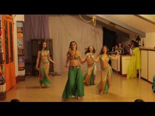 г.Кемерово. Дом-йоги Мудра. 1ый фестиваль индийского танцаТысяча и одна ночь.Ram Chahe Leela (25.12.16)