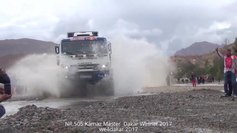NR.505 Kamaz Master Dakar Winner 2017