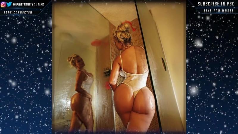 WOW theallamericanbadgirl BIG BOOTY White Girl PAWG Whooty