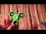 Видео-обзор простого пластикового спиннера
