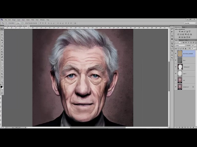 Smudge Painting - IanMcKellen - Part 2