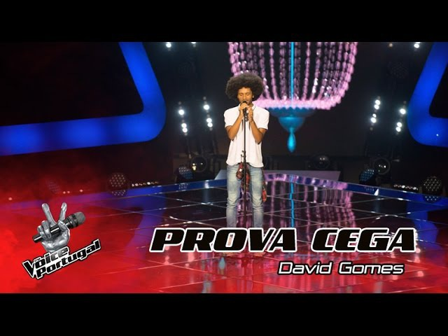 David Gomes - Crazy in Love | Provas Cegas | The Voice Portugal